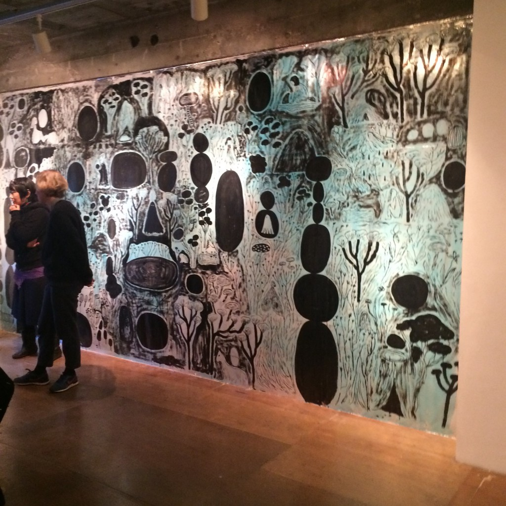 AIRYに一年滞在していたJosephine Vejrichの展示風景。