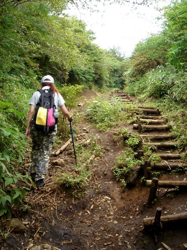 10年ほど前、箱根の金時山にて。山ガールブームにはカケラも乗っかっていません